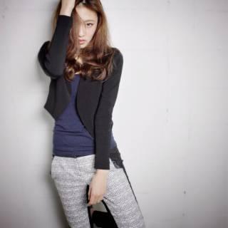 モテ髪 フェミニン ロング モード ヘアスタイルや髪型の写真・画像