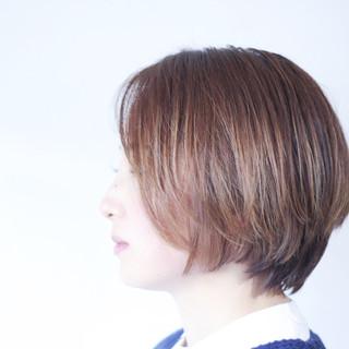 ボブ パープル ショートボブ ラベンダーピンク ヘアスタイルや髪型の写真・画像