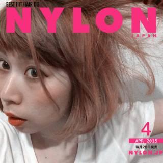 ストリート 春 丸顔 ガーリー ヘアスタイルや髪型の写真・画像