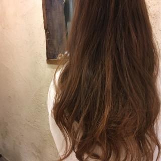 ロング グラデーションカラー 外国人風カラー 上品 ヘアスタイルや髪型の写真・画像