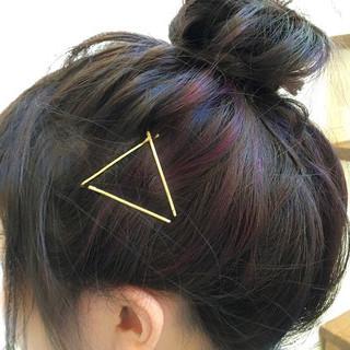 ハーフアップ ショート ヘアアレンジ 簡単ヘアアレンジ ヘアスタイルや髪型の写真・画像 ヘアスタイルや髪型の写真・画像