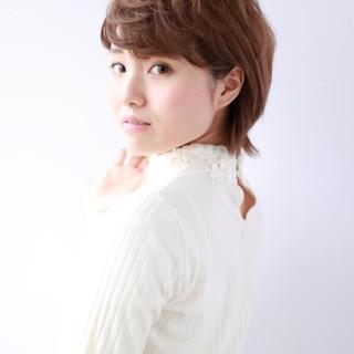 水谷朱里さんのヘアスナップ