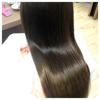 外国人風 グラデーションカラー アッシュ モード ヘアスタイルや髪型の写真・画像