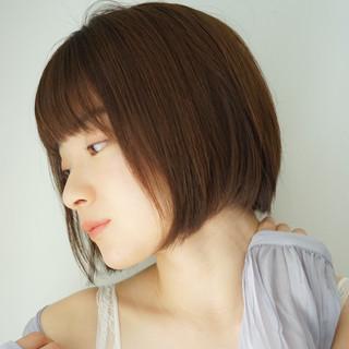 ショートボブ ボブ モテボブ ミニボブ ヘアスタイルや髪型の写真・画像