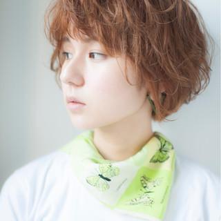 ショート デート ガーリー 簡単ヘアアレンジ ヘアスタイルや髪型の写真・画像