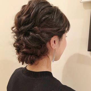 ロング 結婚式髪型 結婚式 結婚式アレンジ ヘアスタイルや髪型の写真・画像