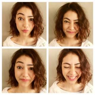 ストレート ボブ くせ毛風 秋 ヘアスタイルや髪型の写真・画像 ヘアスタイルや髪型の写真・画像