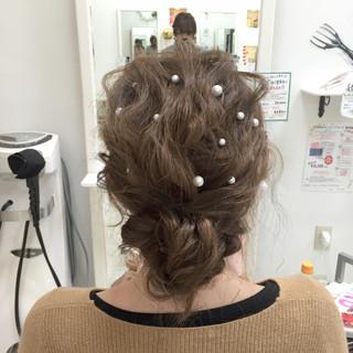 編み込み モテ髪 大人かわいい 透明感 ヘアスタイルや髪型の写真・画像