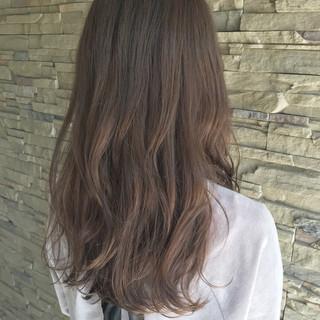 大人かわいい ロング 秋 透明感 ヘアスタイルや髪型の写真・画像
