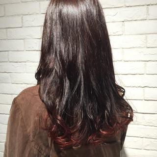 ヘアアレンジ 成人式 ピンク レッド ヘアスタイルや髪型の写真・画像