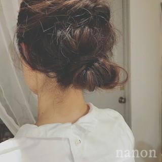 ヘアアレンジ 涼しげ 夏 ナチュラル ヘアスタイルや髪型の写真・画像