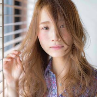 ゆるふわ 外国人風 ハイライト 大人かわいい ヘアスタイルや髪型の写真・画像
