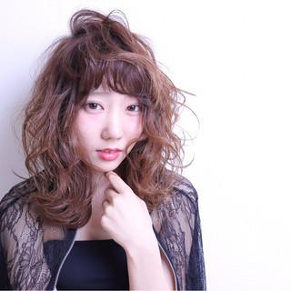 グラデーションカラー 大人かわいい モード おフェロ ヘアスタイルや髪型の写真・画像