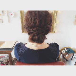 簡単ヘアアレンジ ロング ゆるふわ ストリート ヘアスタイルや髪型の写真・画像