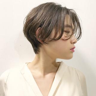 小顔 かっこいい かわいい ナチュラル ヘアスタイルや髪型の写真・画像