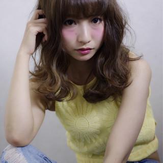 外国人風 大人かわいい フェミニン ゆるふわ ヘアスタイルや髪型の写真・画像