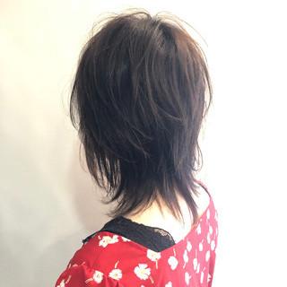 ウルフ女子 ショート ナチュラルウルフ かっこいい ヘアスタイルや髪型の写真・画像