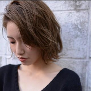 ショート 冬 外国人風 ナチュラル ヘアスタイルや髪型の写真・画像