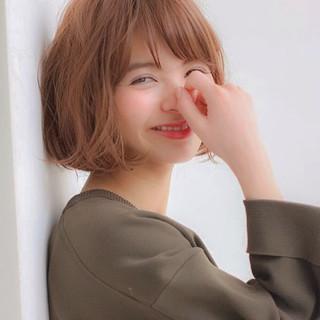 小顔 ナチュラル アッシュ 簡単 ヘアスタイルや髪型の写真・画像