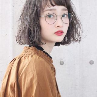 ボブ 抜け感 夏 外国人風 ヘアスタイルや髪型の写真・画像