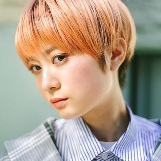 ショート 似合わせカット ガーリー PEEK-A-BOO ヘアスタイルや髪型の写真・画像