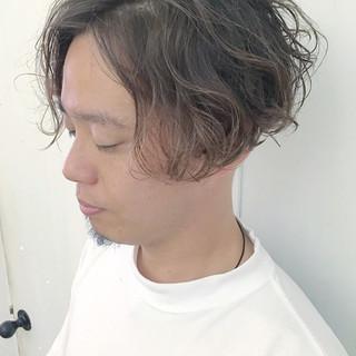 ボブ モテ髪 メンズ ボーイッシュ ヘアスタイルや髪型の写真・画像