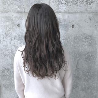ロング パーマ 巻き髪 モード ヘアスタイルや髪型の写真・画像