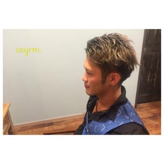 メンズ ボーイッシュ 刈り上げ 個性的 ヘアスタイルや髪型の写真・画像 ヘアスタイルや髪型の写真・画像