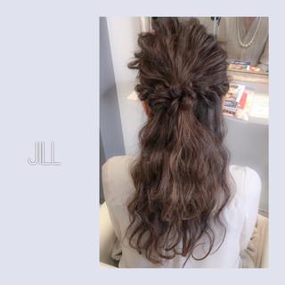 ヘアアレンジ パーティ ロング ショート ヘアスタイルや髪型の写真・画像