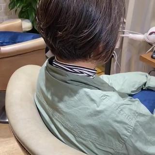 ミルクティーベージュ 簡単スタイリング ナチュラル ハイライト ヘアスタイルや髪型の写真・画像