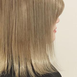 グラデーションカラー 外国人風 ストリート ミディアム ヘアスタイルや髪型の写真・画像