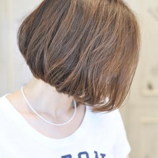 透明感カラー ミディアム 大人可愛い 抜け感 ヘアスタイルや髪型の写真・画像