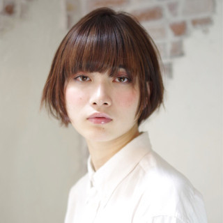 アッシュ モード ナチュラル かっこいい ヘアスタイルや髪型の写真・画像 ヘアスタイルや髪型の写真・画像