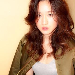 ブラウン コンサバ かっこいい 大人女子 ヘアスタイルや髪型の写真・画像