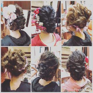ヘアアレンジ ロング アップスタイル ショート ヘアスタイルや髪型の写真・画像