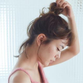 ヘアアレンジ 大人女子 大人かわいい ショート ヘアスタイルや髪型の写真・画像