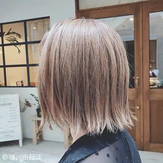 ボブ グラデーションカラー デート モード ヘアスタイルや髪型の写真・画像