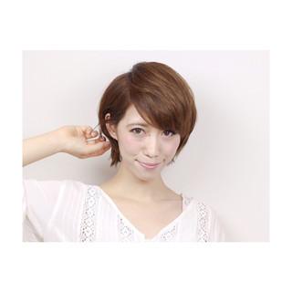 秋 リラックス 女子会 透明感 ヘアスタイルや髪型の写真・画像