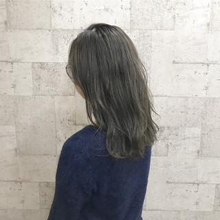 ダブルカラー ブリーチ ハイトーン 外国人風 ヘアスタイルや髪型の写真・画像