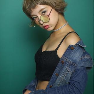 ショート アッシュ 色気 ボブ ヘアスタイルや髪型の写真・画像
