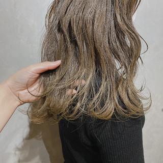ミニボブ セミロング 韓国 韓国ヘア ヘアスタイルや髪型の写真・画像