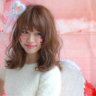パーマ かわいい ゆるふわ 大人女子 ヘアスタイルや髪型の写真・画像