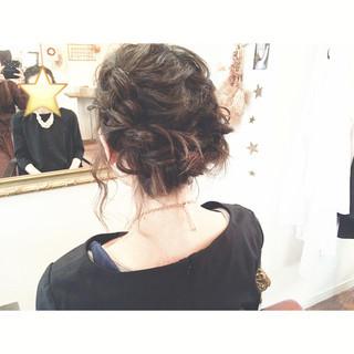 お団子 ガーリー ショート 大人かわいい ヘアスタイルや髪型の写真・画像