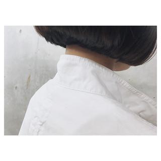 パーマ 黒髪 色気 ナチュラル ヘアスタイルや髪型の写真・画像