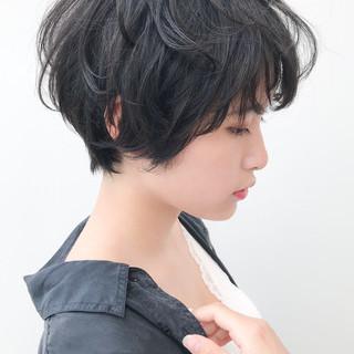 ショート 大人かわいい コンサバ 横顔美人 ヘアスタイルや髪型の写真・画像