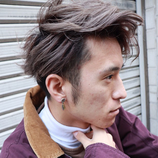 ストリート サロンモデル 撮影 メンズヘア ヘアスタイルや髪型の写真・画像