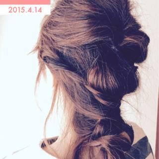 ゆるふわ モテ髪 ナチュラル フェミニン ヘアスタイルや髪型の写真・画像