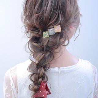 結婚式 ロング 成人式 外国人風カラー ヘアスタイルや髪型の写真・画像