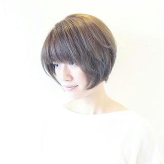 大人かわいい 夏 ベリーショート ナチュラル ヘアスタイルや髪型の写真・画像
