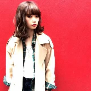 ストリート パンク 春 ウェットヘア ヘアスタイルや髪型の写真・画像